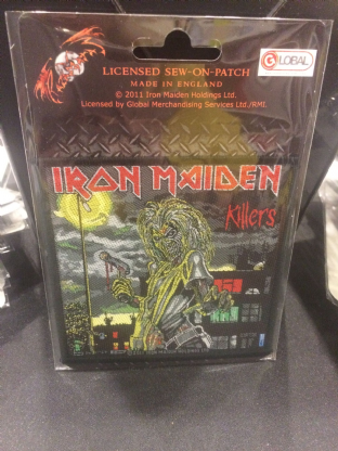 Iron Maiden Patch 3